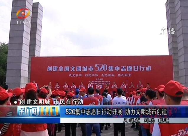 520集中志愿日行动开展 助力文明城市创建