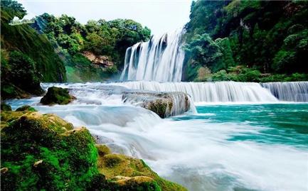 """6月21日,在台州出发,""""打飞的""""遇见黄果树瀑布!"""