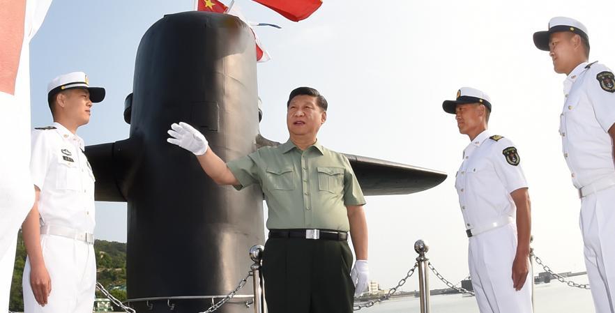习近平在视察北部战区海军时强调 贯彻转型建设要求 锻造海上精兵劲旅