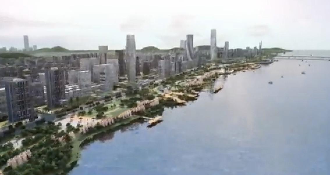 """椒江:推进""""一江两岸""""开发 打造品质湾区的地标和窗口"""