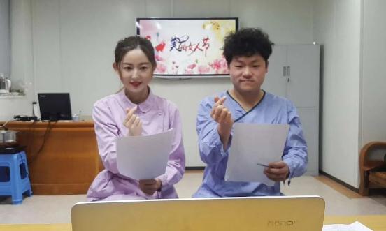 昨晚,臺州市一醫ICU的白衣天使直播吹泡泡,圈粉無數!