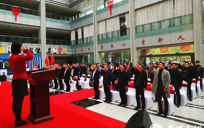 建党100周年倒计时100天 台州市直100家单位党员代表将唱响初心