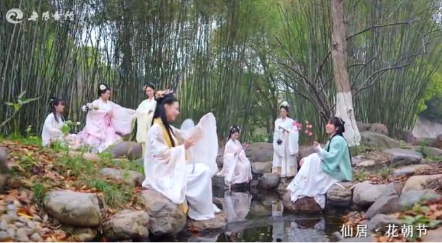 """视频丨花朝节·七""""仙""""女"""