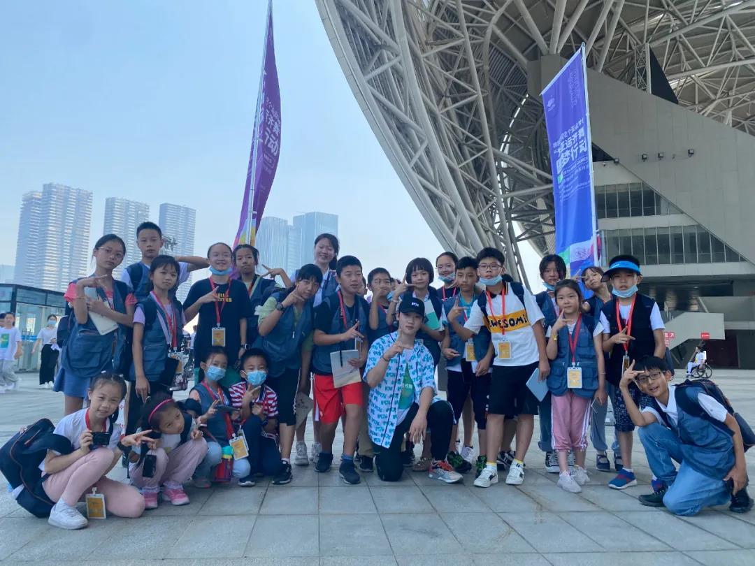杭州亚运倒计时一周年,台州14名舞者为亚运齐舞!